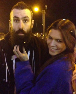 Scroobius Pip and SAVAGE's Lucy Dunn