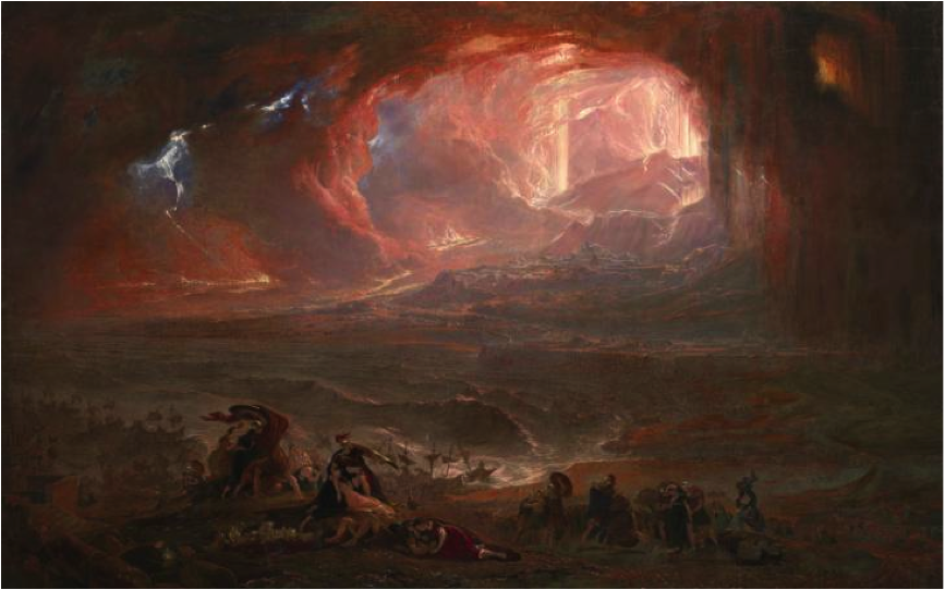 John Martin, The Destruction of Pompeii and Herculaneum, 1822