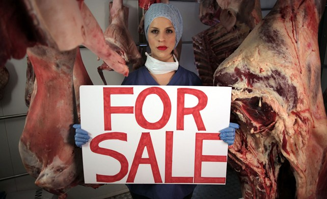 Storm Theunissen in her documentary What's My Body Worth?