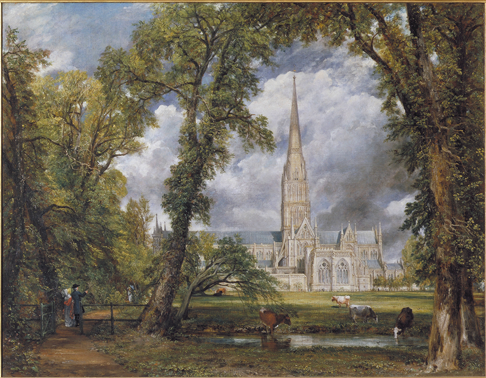 Salisbury Cathedral from the Bishop's Ground, 1823, oil on canvas. © Victoria and Albert Museum, London. Source: http://www.vam.ac.uk/content/exhibitions/exhibition-constable-the-making-of-a-master/constable-the-making-of-a-master-about-the-exhibiton/