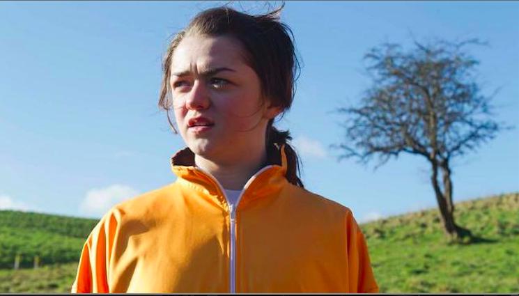 Maisie Williams in Gold. Source: http://irishfilmfestivallondon.com