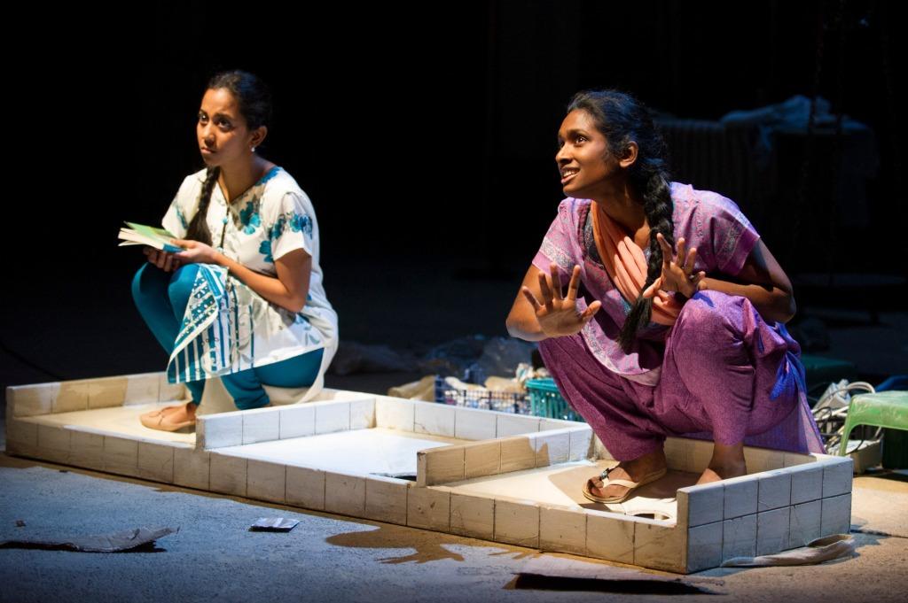 Anjana Vasan - Manju Waghekar, Annika Rose - Meena Chinnu Behind the Beautiful Forevers image by Richard Hubert Smith2