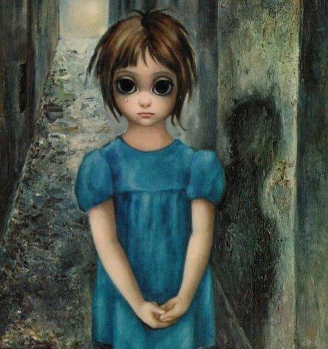 One of Margaret Keane's 'Big Eyes' paintings