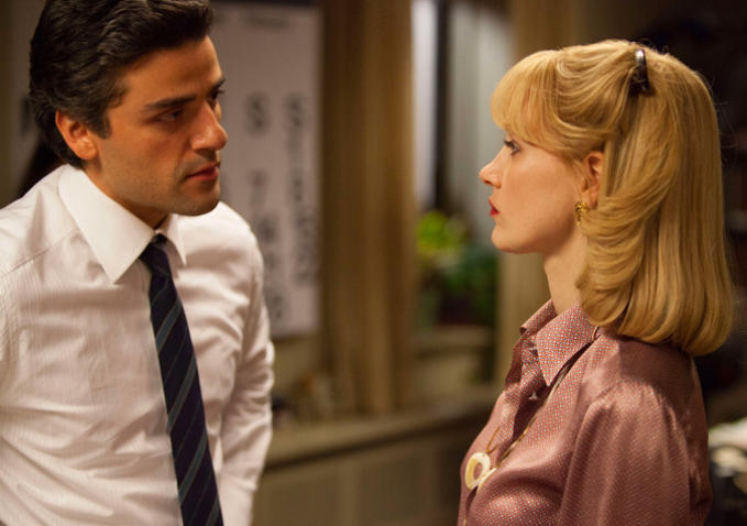 Oscar Isaac and Jessica Chastain in Chandor's latest film, A Most Violent Year
