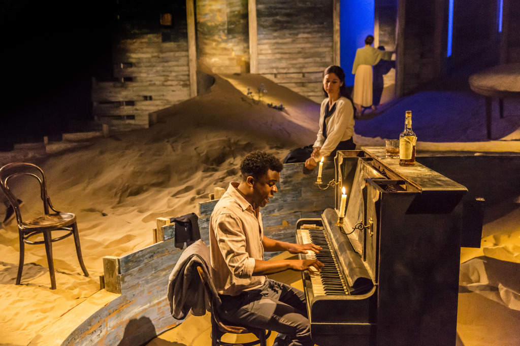 Ashley Zhangazha and Susannah Wise in Ah, Wilderness! at the Young Vic. ...