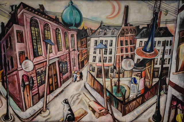 Max Beckmann's 'Synagogue'