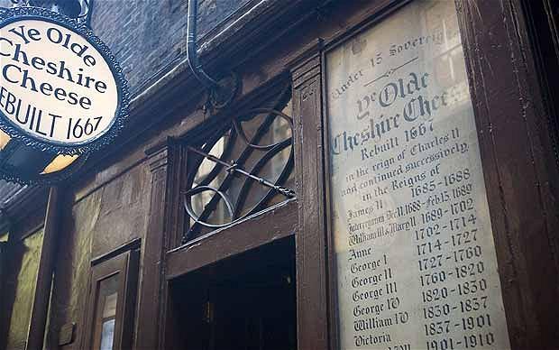 Cheshire Cheese - Alamy via the Telegraph