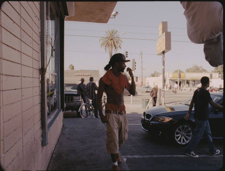 Kahlil Joseph, m.A.A.d film still. Image courtesy of The Infinite Mix.