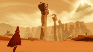A still from 'Journey'. Image courtesy of That Game Company.